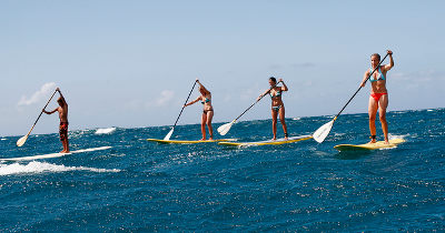Stand up paddle bourding