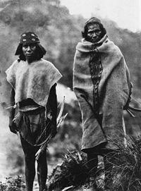 Hombres Tarahumaras
