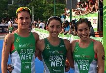 Triatlón Huatulco 2017 - Podio femenino