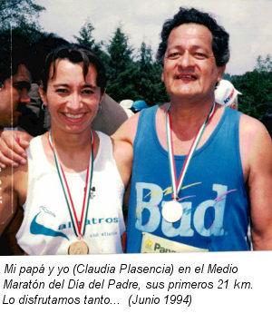 Jorge y Claudia Plasencia - Medio Maratón del Día del Padre 1994