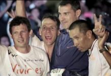 Pablo Ferrara y sus amigos IM Cozumel 2013