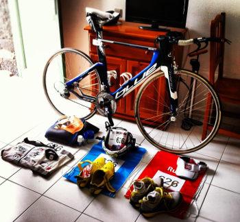 Prepara equipo triatlón