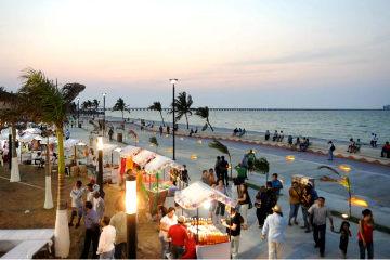 Malecón Puerto Progreso