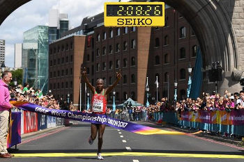 Kirui ganador Maratón Mundial Londres 2017
