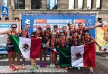 Selección Mexicana de Triatlón Róterdam 2017