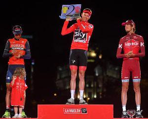 Vuelta a España - Podio Clasificación General
