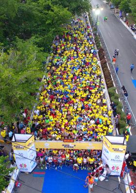 Maratón Mérida 2016 - salida