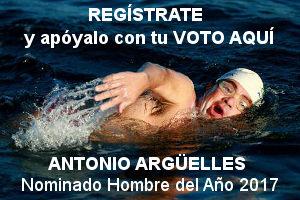 Antonio Argüelles nominado Hombres del Año 2017