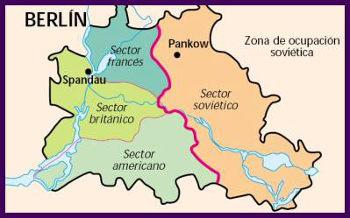 División de Berlin 1945