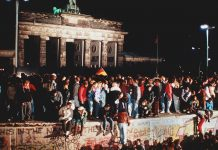 Caída Muro de Berlín 9 noviembre 1989