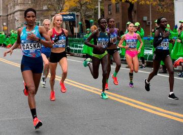 Daska Flanagan Keitany Maratón de Nueva York