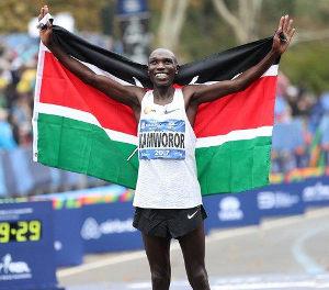 Geoffrey Kamworor gana Maratón de Nueva York 2017