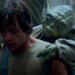 Yoda and Luke at Dagobah