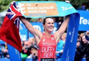 Flora Duffy (Bermudas) Campeona Mundial Triatlón 2017