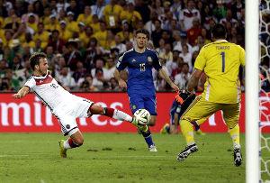 Alemania VS Argentina - Mundial futbol 2014