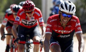 Contador y Froome en La Vuelta a España 2017