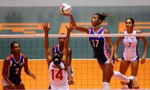 Volibol femenil, equipo Cuba