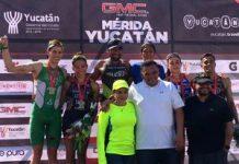 Triatlón Mérida 2018 - podio general