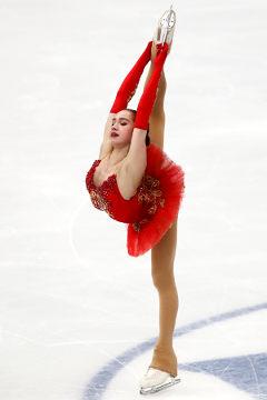 PyeongChang Alina Zagitova (OAR)- patinaje de figura