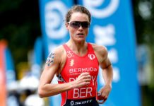 Emma Duffy running at Roterdam 2017
