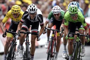 Tour de Francia 2017 - Sprint final etapa 9