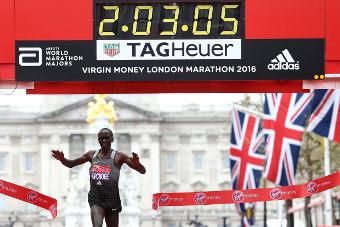 Eliud Kipchoge - Maratón de Londres 2016