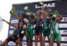 Selección Mexicana de Triatlón JCC Barranquilla 2018