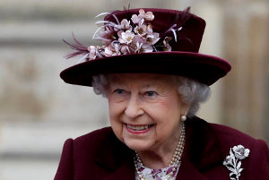 Reina Isabel II de Gran Bretaña