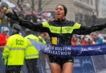 Dessiere Linden - Boston Marathon 2018
