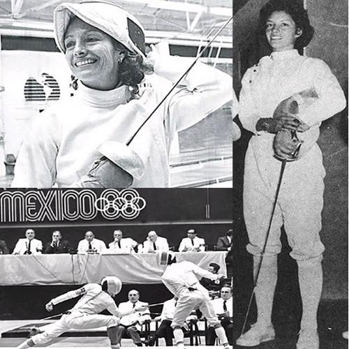 Pilar Roldán - Florete, medalla de plata - México 68