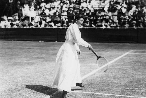 Charlotte Cooper primera campeona de tenis