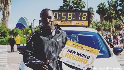 Abraham Kiptum - Récord Mundial de Maratón