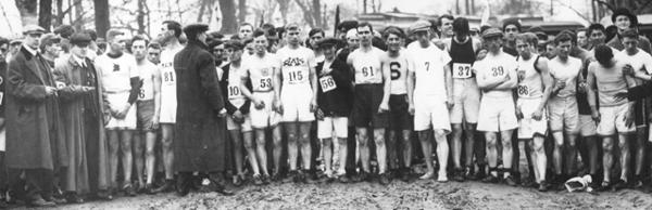 Salida Primer Maratón de Boston