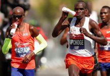 Farah y Kipchoge Maratón de Londres