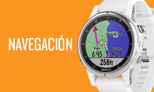 Garmin fénix 5 plus - Navegación