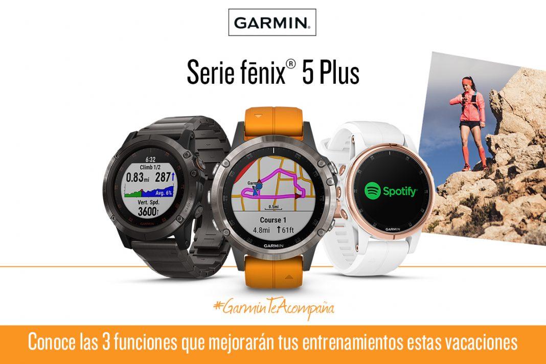 GARMIN Serie fénix 5 Plus