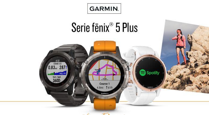 GARMIN Serie fénix 5 Plus