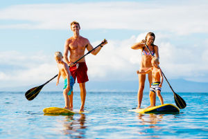 Familia Standup-paddle