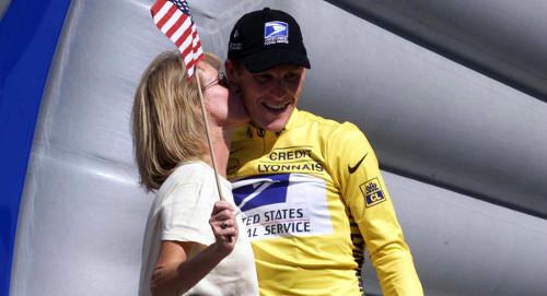 Lance Armstrong y su mamá Linda