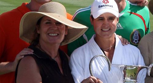 Lorena Ochoa y su mamá