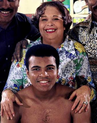 Muhammad-Ali y su mamá Odessa