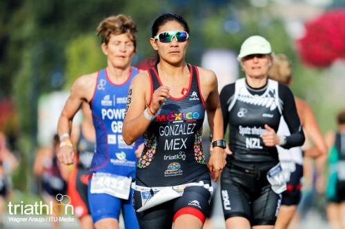 Multisport Penticton - Acuatlón - González corre