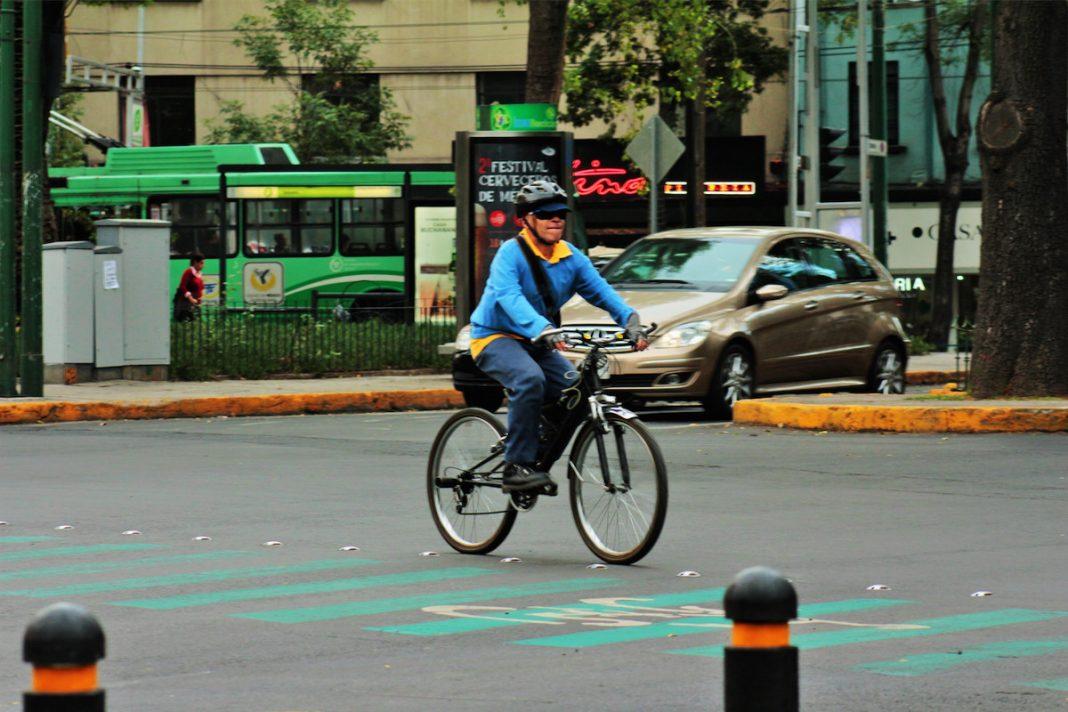 Ciclista urbano Ciudad de México