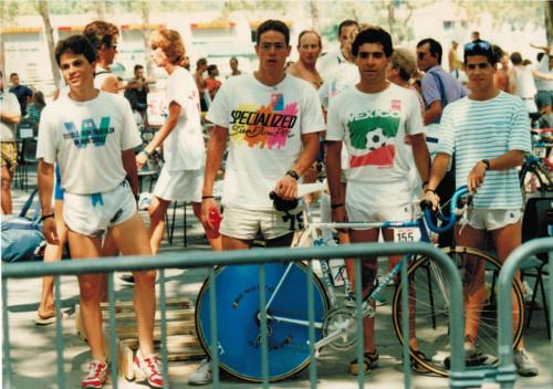 Campeonato Mundial de Triatlón Avignon 1989 - Selección mexicana
