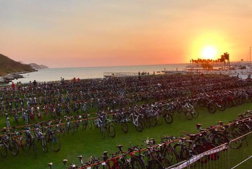 IRONMAN 70.3 Campeche 2017 - amanece
