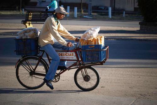 Bici panadero