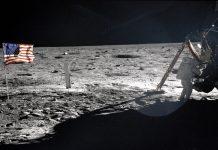 Armstrong y el Apollo 11 en la Luna (20 julio 1969)