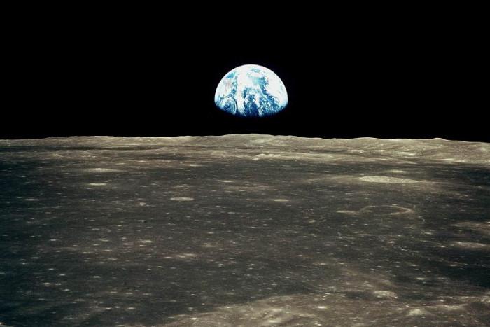 La Tierra vista desde la Luna 1969