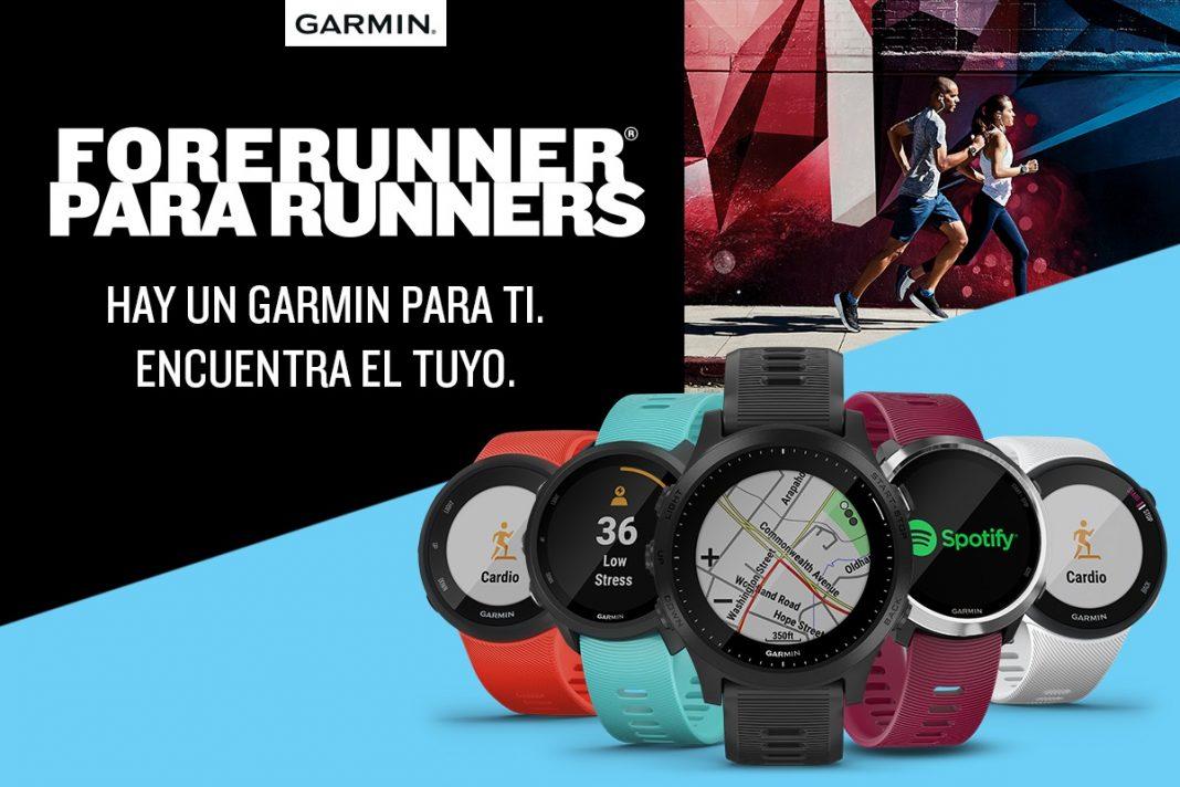 Garmin Forerunner para runners