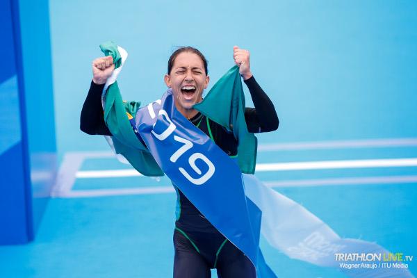 Luisa Baptista gana el Triatlón Panmericano Lima 2019
